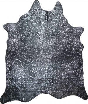 Metallic Silver On Black