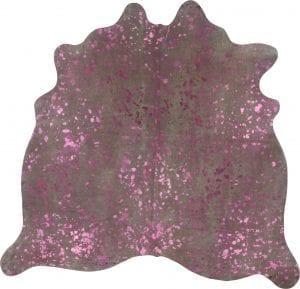 Metallic Pink On Off White