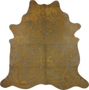 Metallic Bronze On Brown